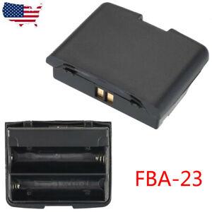 FBA-23A Battery Case Bag for Yaesu Walkie Talkie VX-5R VX-6R VX-7R VX-710 Radio