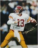 Todd Marinovich Hand Signed Autographed 11x14 Photo USC Hand Back Gold Ink COA