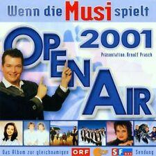 Wenn die Musi spielt-Open Air 2001 (ORF/ZDF/SF) Kastelruther Spatzen, Sch.. [CD]