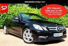 Mercedes-Benz E-Class Convertible Cars