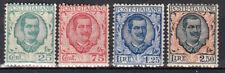 A-1867 - 1926 REGNO Floreale Sassone 200-203 4 valori nuovi MLH*