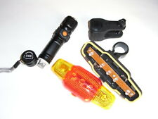 torcia kit bici led cree T6 by 18650 ipx6  battery waterproof 1000 lumen usb