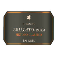 "6 BT ROSE' FRANCIACORTA DOCG ( 2008) "" BRUSATO ROSA "" 100% PINOT NOIR IL PENDIO"