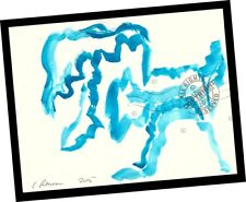 The Dragon Barks, My Dog 2015 Contemporary Art PAINTING SIGNED abstract