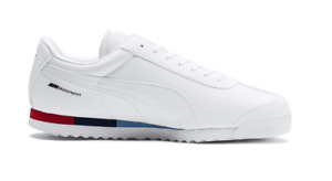 PUMA BMW MMS Roma (306195 04) Motorsport Sneakers Weiß Trainers - NEU OVP