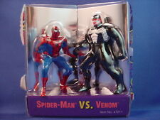 "MARVEL SPIDER-MAN WEB OF STEEL DIE-CAST METAL 2.5-3"" SPIDER-MAN VS VENOM LOOSE"