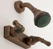 "Mobile Home RV 4"" Oil Rub Bronze Shower Faucet w/Shower Kit Empire YOB54OB"