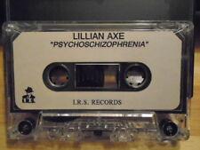 RARE ADVANCE PROMO Lillian Axe CASSETTE TAPE Psychoschizophrenia rock metal 1993