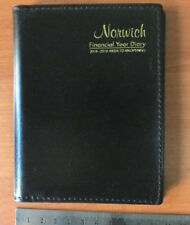 Norwich 2018 / 2019 Financial Year Diary Week to View Open A6 Pocket 63sfy Black