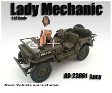 American Diorama Figure: Lady Mechanic Lucy 1:18 Scale