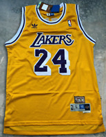 #24 Kobe Bryant Vintage Los Angeles Lakers men's jersey Size M-XL Fast Shipping