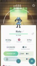 Pokemon Go Trade Offer - Riolu (not Shiny)