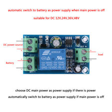 DC 12V 24V 36V 48V 10A Power Supply Battery Controller Automatic Switch Module
