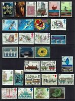 UK GB GREAT BRITAIN...COLLECTION 29 STAMPS