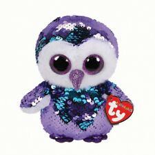 e698dc4cc9f Moonlight The Flippable Sequin Owl Toy