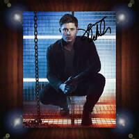 Jensen Ackles Supernatural TV Signed Autographed Framed Photo/Canvas Print