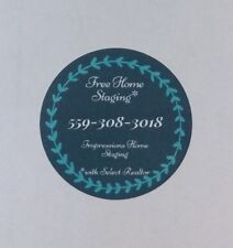 """Full Color Printed Stickers, 24 Custom Round Paper Labels, 1.67"""" Circle, Matte"""