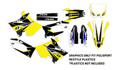 Polisport restyle GRAPHICS KIT 2001 - 2008 RM 125 / 250 DECAL MOTOCROSS GRAPHIC