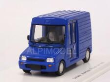 Daihatsu Mira Walk Through Van 1992 Blue 1:43 SPARK SJ043