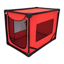 "Sport Pet Portable Soft Sided Dog Kennel, Red, Large, 36""L x 24""W x 26""H"