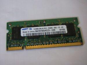 Samsung computer memory  RAM 512MB 2Rx16 PC2-5300S-555-12-A3