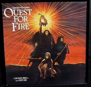 Quest For Fire - Soundtrack - 1982 U.K 1st Press - NEAR MINT Vinyl LP