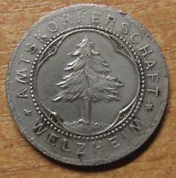 Germany Notgeld (Token) Welzheim 10 pfennig 1918