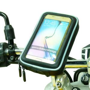M8 Waterproof Motorcycle Handlebar Clamp Mount for Samsung Galaxy S6 & s6 Edge