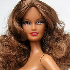 Barbie Doll African American Model Muse Target Basics Collection Model No.2