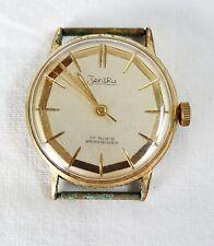 Armbanduhr Herren ZentRa vintage Uhr 17 Rubis Bruchsicher Analog /16