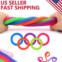 Pack of 5 Stress Relief Toys Stretchy String Sensory Fidget Toy ADD/ADHD Anxiety