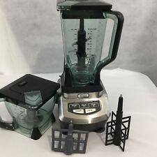 Ninja Kitchen Blender 1200 System BL700 72oz Pitcher 40oz Bowl Lids Pulse Mixing