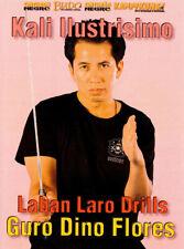 Kali Ilustrisimo - Laban Laro Drills Sword DVD Guro Dino Flores Eskrima Arnis