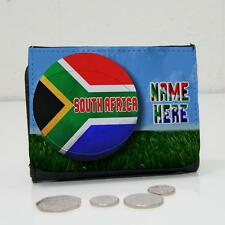 Personalised South Africa Rugby Team Wallet Dad Grandad Mens Lads Gift SH241