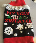 Simply Dog My Ugly Xmas Sweater Snowflakes NWOT SMALL