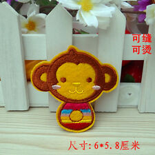Sew on & iron on  patches(cute monkey)