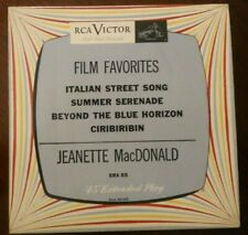 "Jeanette MacDonald - Film Favorites (US RCA RED SEAL SINGLE ""7 45 RPM)"