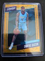2017-18 Prestige DWAYNE BACON Rookie #38 Orange Cracked Ice Micro Etch RC