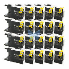 20 BLACK LC71 LC75 Ink Cartridge for Brother MFC-J280W MFC-J425W MFC-J435W LC75