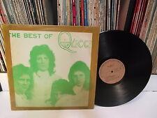 QUEEN - The Best Of Queen KOREA LP Green Cvr