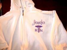 Sweatshirt HOODIE Gift NURSES ZIP Nurse RN LVN MD LPN HOSPITAL MEDICAL OFFICE