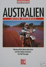 Motorrad Australien Edition unterwegs. Henniges