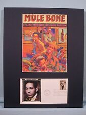 Mule Bone by Langston Hughes & First Day Cover