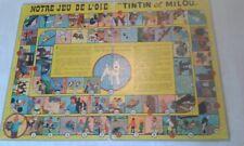 """Ancien Jeu de l'oie """"TINTIN ET MILOU"""""""