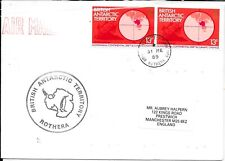 BRITISH ANTARCTIC 1989 ROTHERA COVER