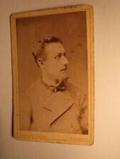 Mann mit Bart in Janker ? Tracht ? ca. 1870er Jahre CDV Münchs & Walter Nürnberg