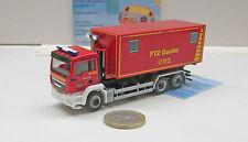 """Herpa 092722MAN TGS M Wechsellader """"Feuerwehrtechnische Zentrale Goslar"""""""