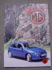 Enjoying MG (Oct 2002) Replacing Midget Front Stub Axle, ZR Test, TD, ST Spoiler