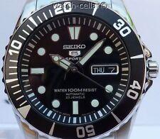 Seiko 5 Sports da Uomo Nuovo Di Zecca Submariner Automatico Orologio 100 M SNZF 17J1