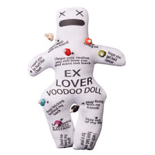 Personalised Revenge Voodoo Doll With 7pcs Skull Pins